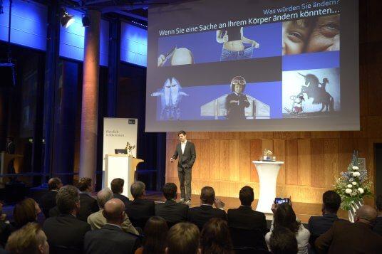 Martin Riebe erzählt von seinen Erfahrungen als Gründer
