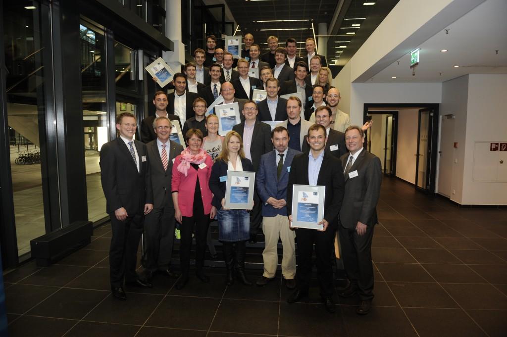 BPW 2013 Stufe 2 Gruppenfoto aller Preisträger und Nominees