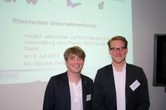 Daniel Schößler und Tim Rupp