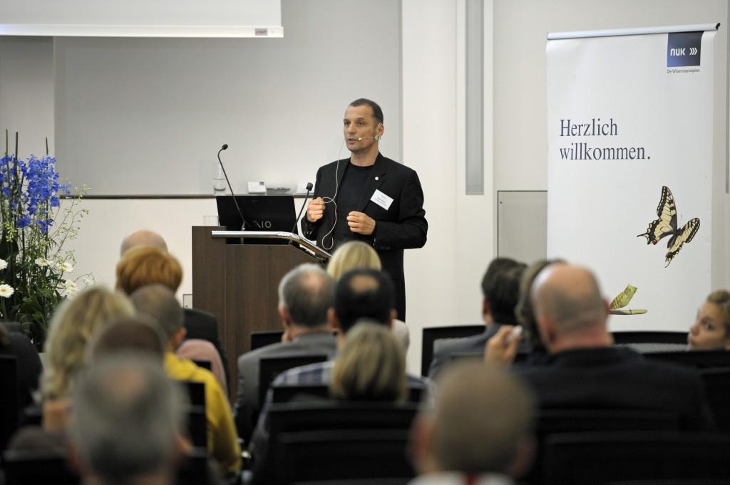 Ralf Zilligen sprach über Kreativtechniken für Unternehmer.