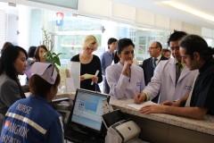 Temos zertifiziert weltweit Krankenhäuser.