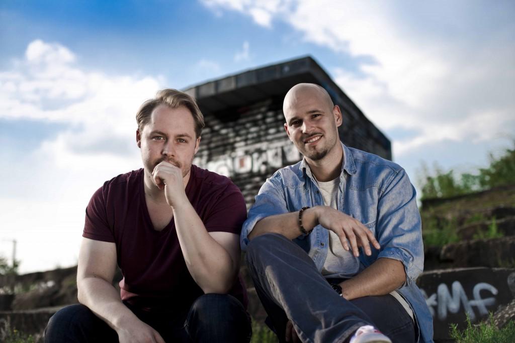 Phil Kahnis und Robert Kronekker wollen den Müsliriegel revolutionieren.