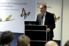 Begrüßung durch den Hausherrn Joachim Klinger, HDI