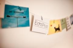 Mit EchtPost kann man übers Internet richtige Postkarten verschicken.