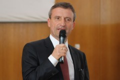 Oberbürgermeister Geisel bei der Begrüßung
