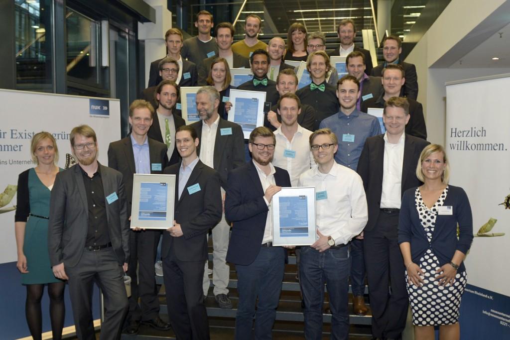 Diese zehn Gründerteams pitchten in den Rheinparkhallen
