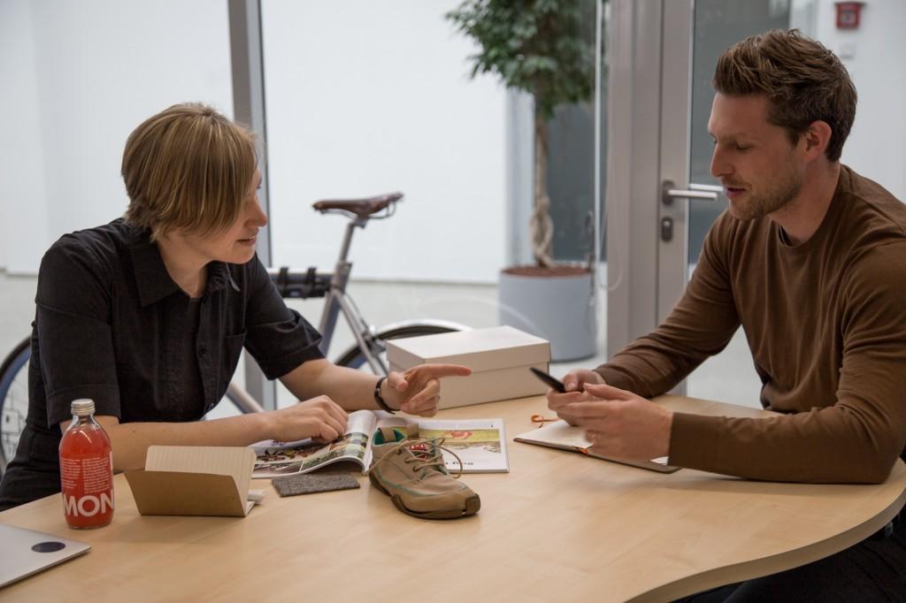 Anna und Sven beim Mentoring