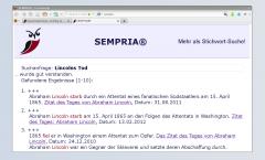 SEMPRIA ist eine bedeutungsorientierte Suchmaschine