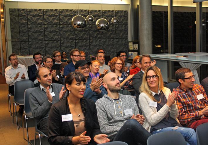 Interessiertes Publikum beim Vortrag im Hause Franz Rechtsanwälte