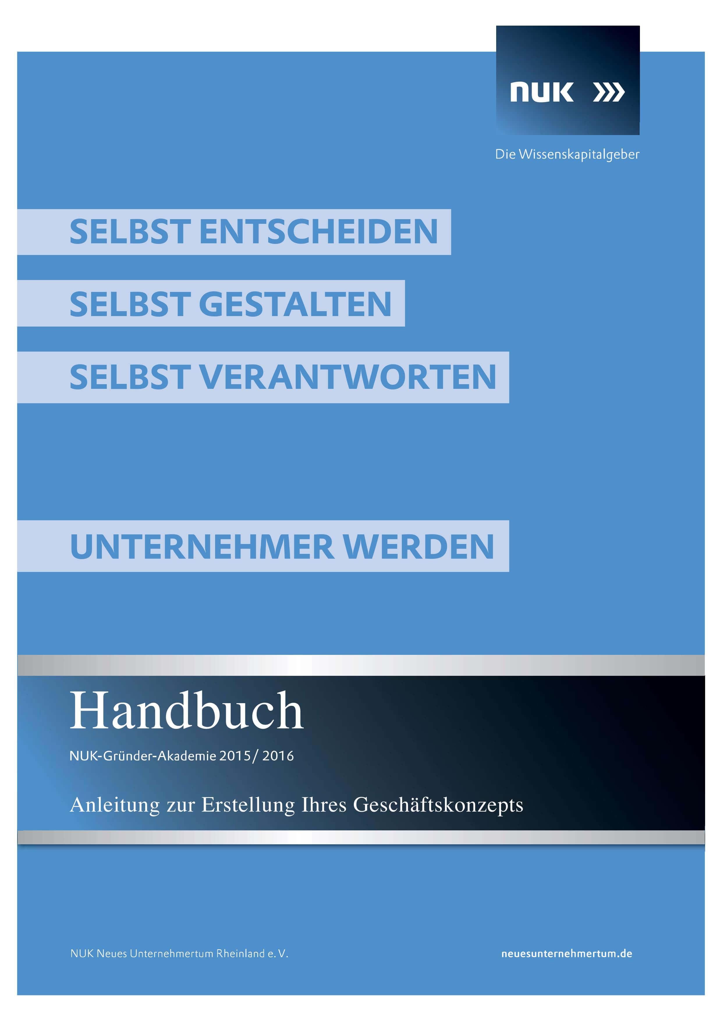 Titelbild Handbuch 20152016