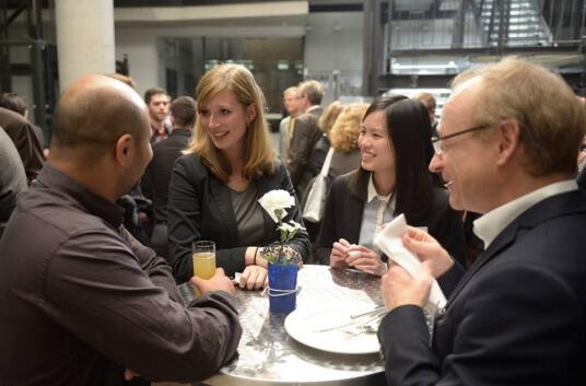 Nach der Veranstaltung gab es für Gründungsinteressierte die Möglichkeit zu Netzwerken.