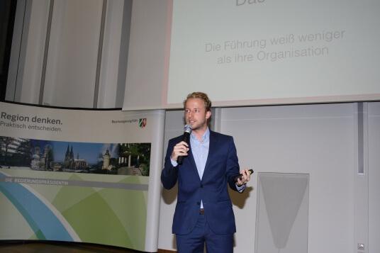 André Henning spricht über Wege zum Erfolg