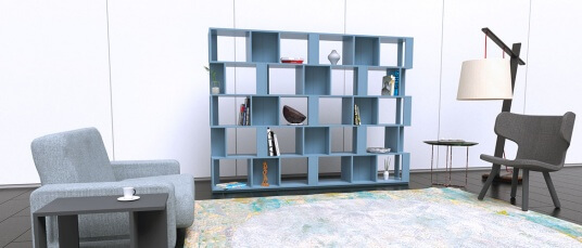 Für Klacks Design entwirft Khodabandeh Möbel