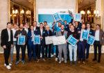 Jubel auf der ganzen Seite: Die Gewinner des 22. NUK-Businessplan-Wettbewerbs stehen fest!