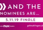 #nukfragtnach: Die Nominees des 23. NUK-Businessplan-Wettbewerbs
