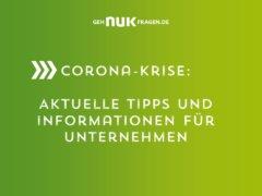 Coronavirus: News und Tipps für Unternehmen