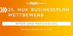 Prämierungsfeier goes online! | 27. Oktober 2020